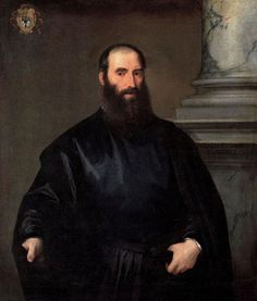 Titian - Giacomo Doria -      Date painted: 1530–1535     Oil on canvas, 115.5 x 97.7 cm     Collection: The Ashmolean Museum of Art and Archaeology