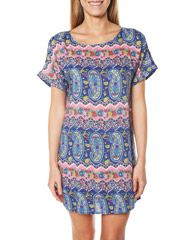 THIS AND THAT PAISLEY TEE DRESS - MULTI on http://www.surfstitch.com