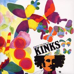 ☮ American Hippie Rock Music Album Cover Art Posters ~  The Kinks