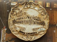 Resin Fridge Magnet, Hand Painted, 7 cm, Italy ROMA COLOSSEO