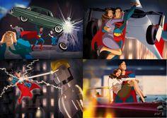 Superman Saves Lois Lane by Des Taylor Marvel Comics, Action Comics 1, Archie Comics, Superman And Lois Lane, Batman And Superman, Superman Stuff, Television Program, Clark Kent, Man Of Steel