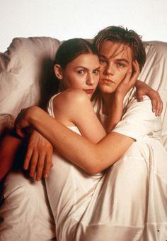 Clare Danes and Leonardo DiCaprio