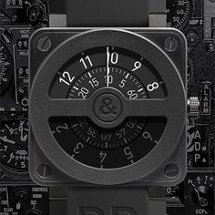 Bell & Ross BR 01-2 Compass watch. It's delightfully impractical, well finished and like the flight instruments that inspired it easy to read. Impractical? There's no lume, date or seconds it's the most basic,and most expensive watch I have but it speaks to me.