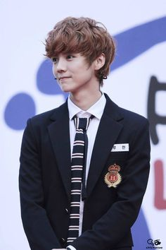 #Exo 루 한 LuHan 1st Young Push up Love up competition 131103
