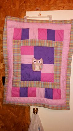Owl baby quilt my daughter N law made
