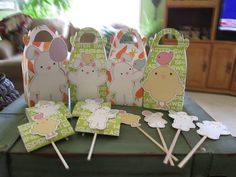 Welcome Spring Party Set of 12 by zbrown5 on Etsy