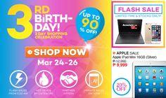 Lazada Philippines 3rd Anniversary Sale Cebu Finest