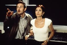 Pin for Later: 26 Real Couples Who Played Couples on Screen David Arquette and Courteney Cox, Scream