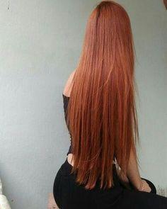 18 Easy Hairstyles and Hair Color Ideas for Short Hair Black Hair Ombre, Long Red Hair, Ombre Hair, Balayage Hair, Beautiful Long Hair, Gorgeous Hair, Pretty Hairstyles, Easy Hairstyles, Natural Hair Styles
