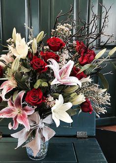 Christmas Wreaths, My Design, Floral Wreath, Holiday Decor, Flowers, Home Decor, Christmas Swags, Homemade Home Decor, Flower Crowns