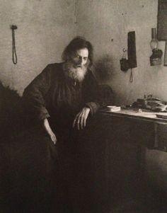 Alfred Eisenstaedt-Dying Monk