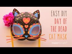 Video tutorials youtube:: Pinatas, flowers, 3D paper masks!