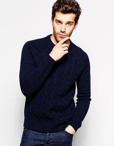 Shop Esprit Wool Mix Cable Knit Jumper at ASOS. Mens Roll Neck, Pull Torsadé, Asos, Cable Knit Jumper, Roll Neck Jumpers, Mens Jumpers, Cardigans, Sweaters, Pulls
