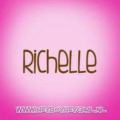 Richelle  (Voor meer inspiratie, en unieke geboortekaartjes kijk op www.heyboyheygirl.nl)