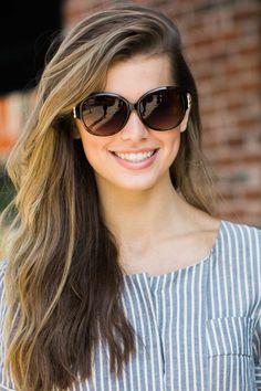 Fit The Frame Brown Sunglasses at reddressboutique.com