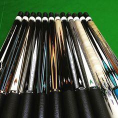 Forearm partswhich do you like?#billiards #billiardcue #eclatcue #weilucue #eclatbilliard