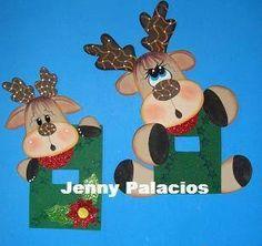 moldes de cubre apagadores navideños - Buscar con Google Western Christmas, Christmas Yard Art, Christmas Applique, Felt Christmas, Christmas Signs, Christmas Crafts, Christmas Ornaments, Foam Crafts, Diy And Crafts