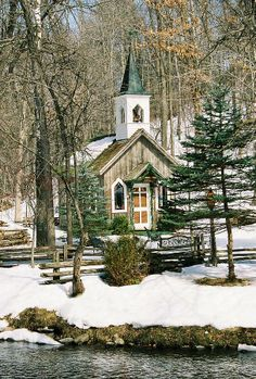 snow country church