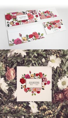 Personal Identity for florist on Behance