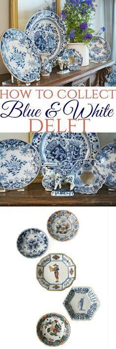 Hand painted, and decorative, antique Delft is highly collectable. Learn about the history, and how to collect and display Delft Blue.