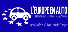 Nouveau service de previtr@fic.eu, retrouvez chaque matin, les principales infos circulation dans la zone des 28 pays couverts avec travaux, événements, météo (avec également la carte européenne de vigilance) au sein de notre point quotidien.  http://previtrafic.eu/?-Point-trafic-Europe