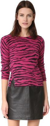 Shop Now - >  https://api.shopstyle.com/action/apiVisitRetailer?id=612171461&pid=uid6996-25233114-59 Marc Jacobs Tiger Stripe Cashmere Sweater  ...