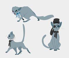 Ciel Phantomhive the cat by Edheloth on DeviantArt Anime Oc, Anime Manga, Manhwa, Black Butler Funny, Sebastian X Ciel, Otaku, Black Butler Characters, Sebaciel, Butler Anime