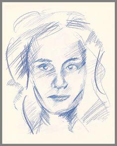 // Cailac Emmanuelle // Auto Portrait - Self Portrait