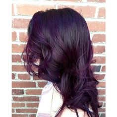 Dark purple hair ❤ liked on Polyvore featuring accessories and hair accessories
