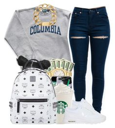 """""""Outfit #266 (Winter)"""" by whatevas ❤ liked on Polyvore featuring Columbia, NIKE, MCM and Michael Kors"""