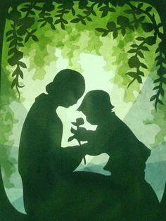 Glückwunschkarten - Mutter und Kind - ein Designerstück von art4windows bei DaWanda