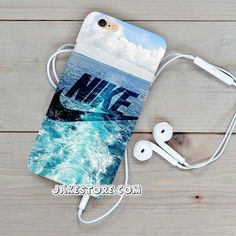 Nike Water Logo iPhone Case 4 4s 5 5s 5c 6 6s Plus Hard Case Cover