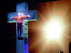 Jesuit Father Carlos Novoa, former dean of the Department of Theology at the Javeriana University, said he was impressed by the 'deep spirituality' of some of Madonna's choreography and claimed her parody of the crucifixion 'is not a mockery of the cross, but rather the complete opposite: An exaltation of the mystery of the death and resurrection of Jesus' and a 'creative and moving' work of art. (2007)