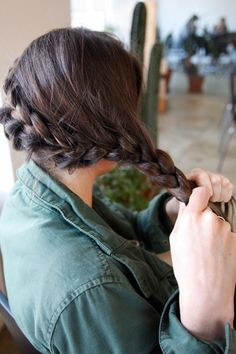 Katniss Braid Tutorial