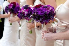 Christian & Stefan's: Romantic Purples | Visual Impact Design | Photography: http://www.travishoehne.com