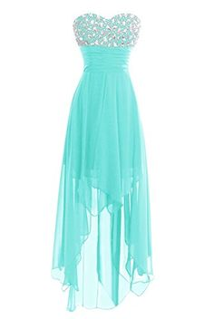 online shopping for Dasior Women's Long Chiffon High Low Bridesmaid Prom Gown Cocktail Party Dress from top store. See new offer for Dasior Women's Long Chiffon High Low Bridesmaid Prom Gown Cocktail Party Dress Cute Formal Dresses, Pretty Prom Dresses, Prom Dresses For Teens, Hoco Dresses, Dance Dresses, Ball Dresses, Homecoming Dresses, Beautiful Dresses, Ball Gowns