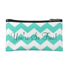 You Are So Fine - Mint Zigzag Bag