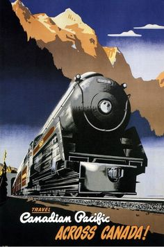 kohoso:  Canadian Pacific Railway - illustration by Peter Ewert...