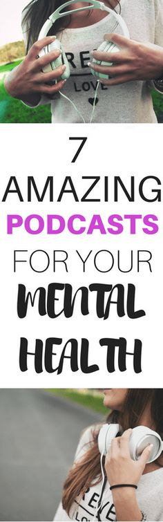 These are my favorite podcasts for managing mental heath. I listen to them to help me live with depression and anxiety.