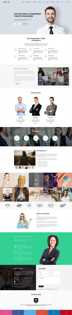 Meryt is clean and modern design multipurpose #PSD template for stunning #business website with 10 unique homepage layouts and 50+ layered PSD files download now➩ https://themeforest.net/item/meryt-multipurpose-psd-template/19857111?ref=Datasata