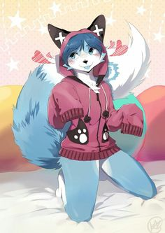 Furry Cute Furry Wolf, Furry Art, Furry Drawing, Anime Wolf, Anime Furry, Yiff Furry, Furry Couple, Animal Drawings, Wolf Girl