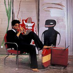 Instagram post by Maja Weyhe • Apr 16, 2020 at 4:13pm UTC Keith Haring, Ansel Adams, Costume Armani, Famous Artists, Great Artists, Art Andy Warhol, Jm Basquiat, Basquiat Artist, Jean Michel Basquiat Art