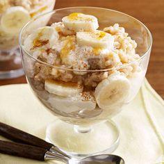 Slow-Cooker Oatmeal-Banana Maple Parfaits - FamilyCircle.com