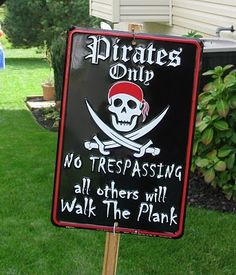 Art pirate party ideas kids