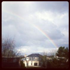 «#arc-en-ciel ce soir à #limoges»