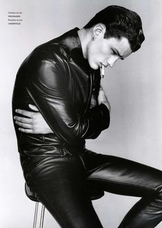 Leatherboy du jour/of the day: Simon Nessman... - The Leather Addict