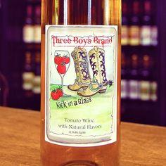 Bloody Mary Wine?  oh yeah!  Wagonhouse Vineyard NJ #njbloodymary #bloodymary