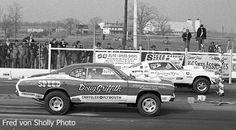Vintage Drag Racing - Pro Stock - Doug Griffith vs Grumpy