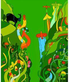 celyn brazier, 1960s, 1970s, illustration