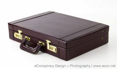 PRESTO CORDOVAN BURGUNDY FAUX LEATHER ATTACHE CASE COMBO BRIEFCASE LUGGAGE  VGC #PRESTO #BriefcaseAttache